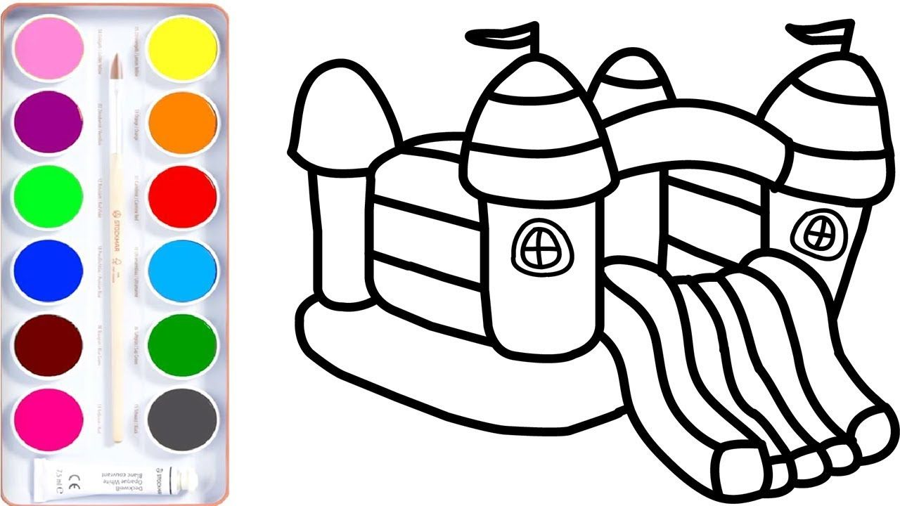 how to draw playground l teach drawing for baby of coloring draw