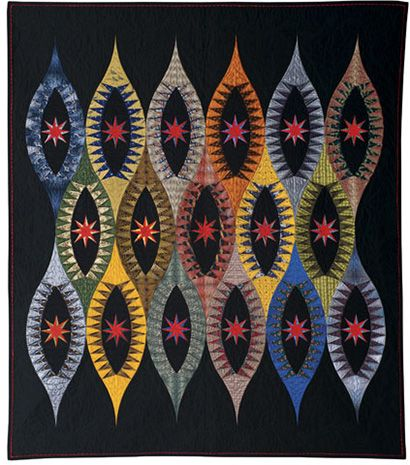 I wouldn't make this out of ties but I like the design. American ... : quilting contests - Adamdwight.com