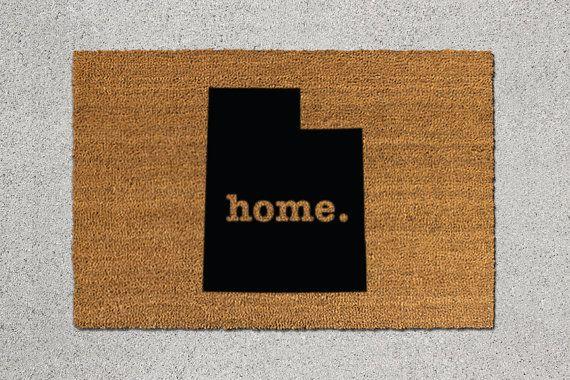Utah Home Door Mat - $39