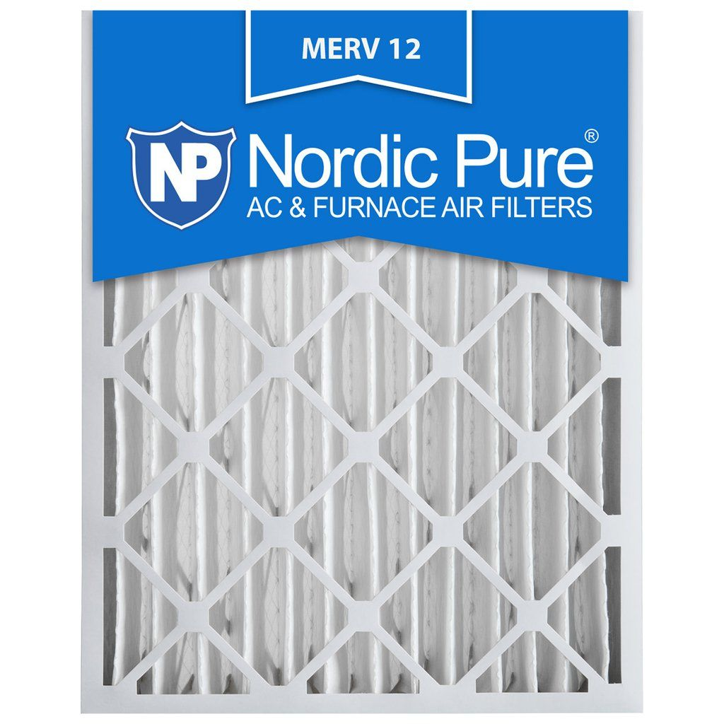 16X25x4 Air Conditioner Filter Furnace Bulk Merv 12