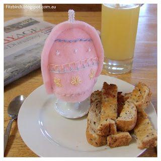 Egg Cosy Sampler - so cute and lovely for Easter morning
