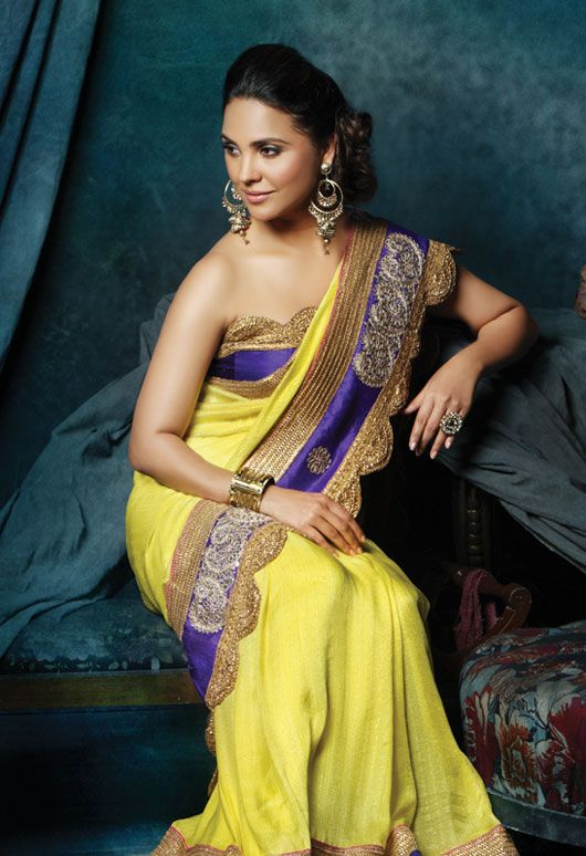 Lara Dutta Launches New Bridal Pret Collection -   Party Wear ...