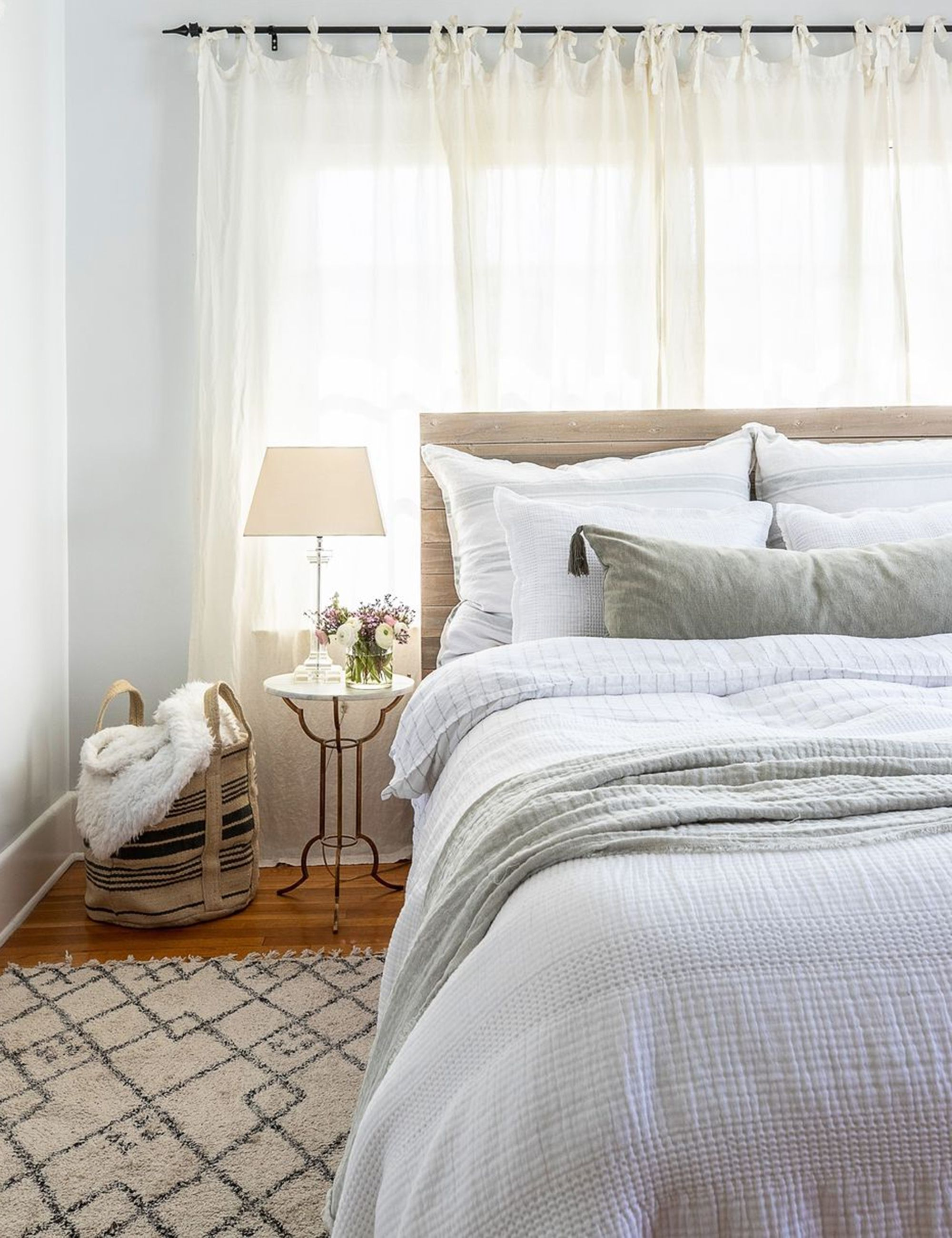 This soft, lived-in linen duvet cover is hand-loomed with an interwoven stripe for minimalist and clean style. Subtle texture within the fabric creates a mellow, inviting space to sleep and relax.