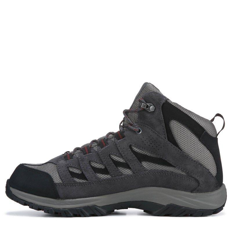 c2484b0b358 Columbia Men's Crestwood Mid Waterproof Wide Hiking Boots (Quarry ...