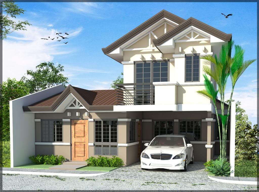Philippine house plan house plan philippine house ofw for Modern architecture house design philippines