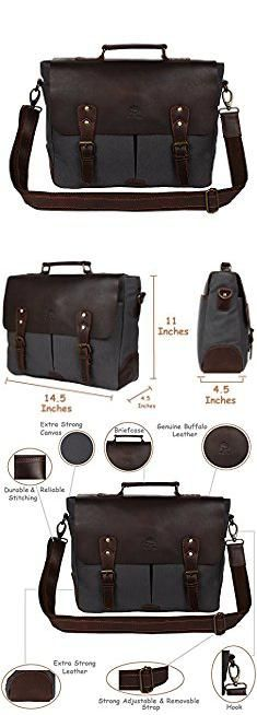 19f812656 Messenger Bag Brands List. Rustic Town Handmade Leather Canvas Vintage  Crossbody Messenger Bag Gift Men