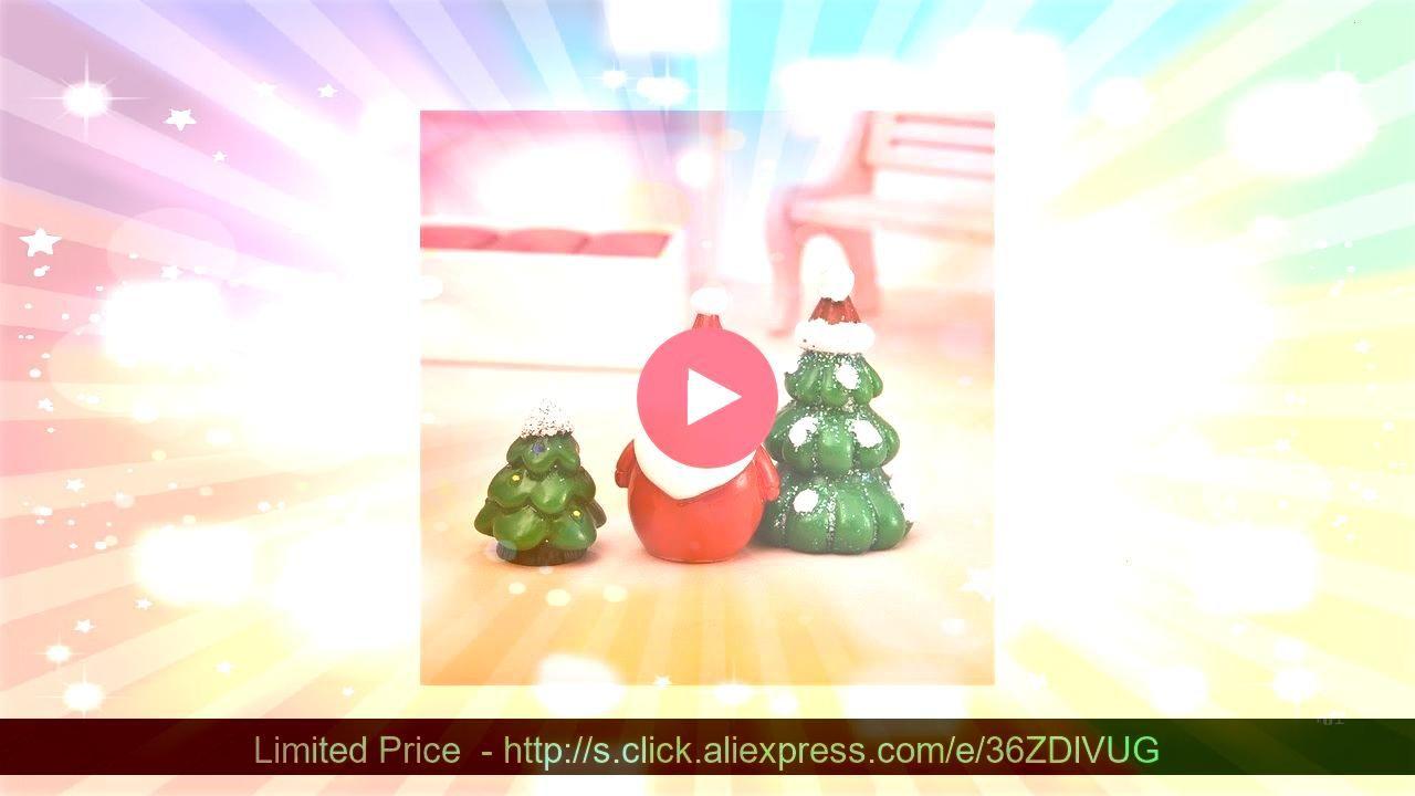 28 style Miniature Christmas Tree Santa Claus Snowmen Terrarium Accessories Gift Box Fairy Vintage Lot of Wooden Christmas Ornaments This adorable miniature was 100 handm...