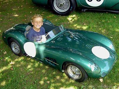 Aston Martin DBR1 child's car