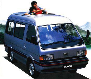Mazda Bongo Van JP-spec '06.1983-99 (con imágenes)   Mazda ...