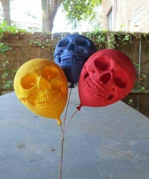 ....Skull Ballons....