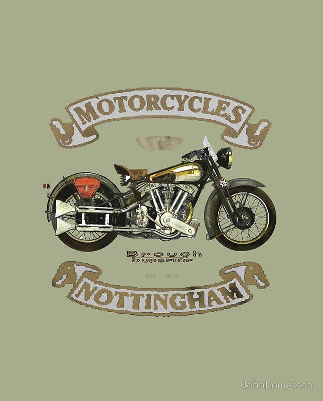Retro Bikes Classic BSA Gold Star Rider Inspired T-Shirt