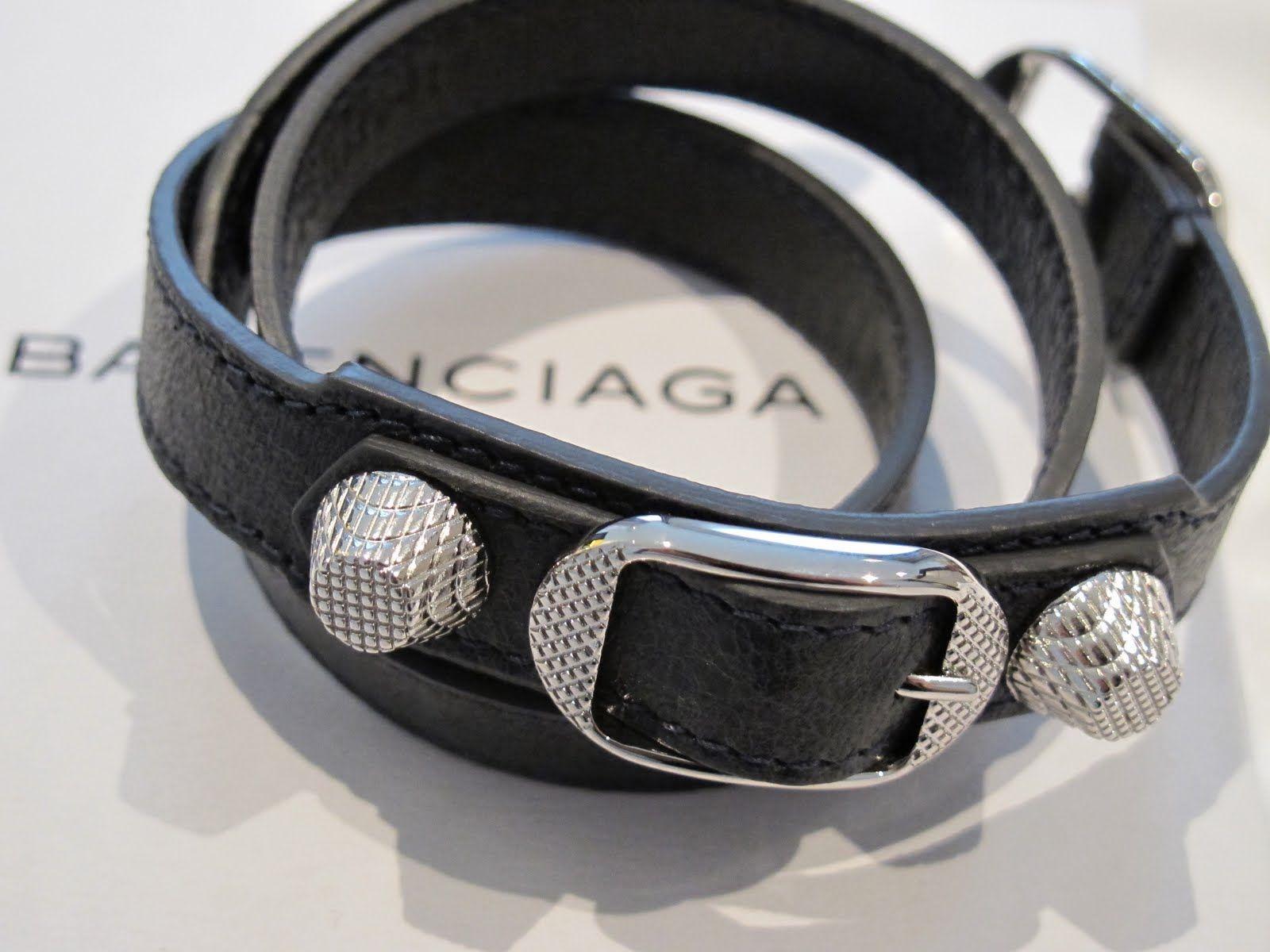 Balenciaga Bracelet My Wish List All Black Belts Arm