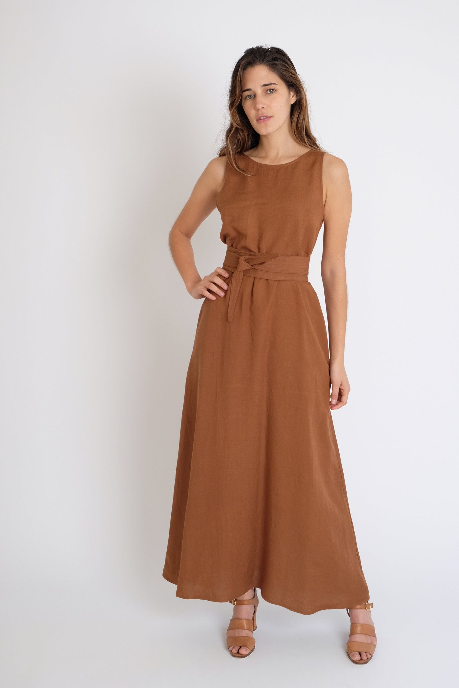 Palma Dress Clay Jesse Kamm