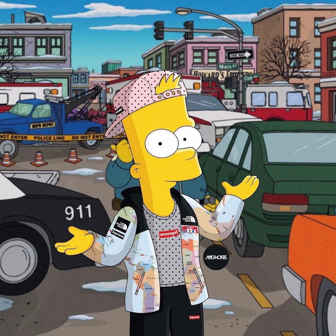 Homer Simpson Supreme Wallpaper Valoblogi Com