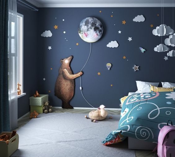 A Child's Room Inspired By Nature