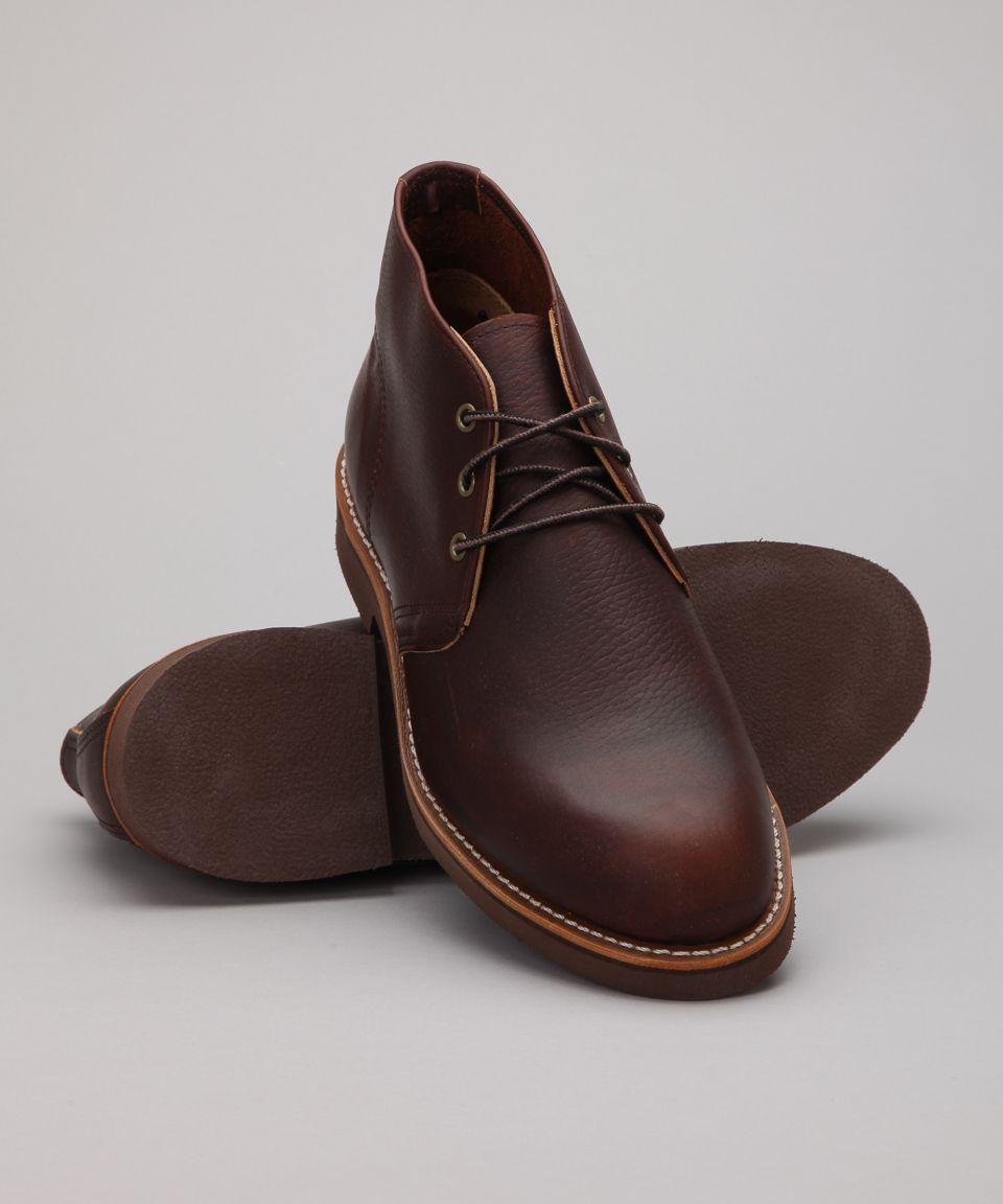 Foreman Slick Buy Briar Chukka Oil Wing Shoes Red 9215 nwv80OmN