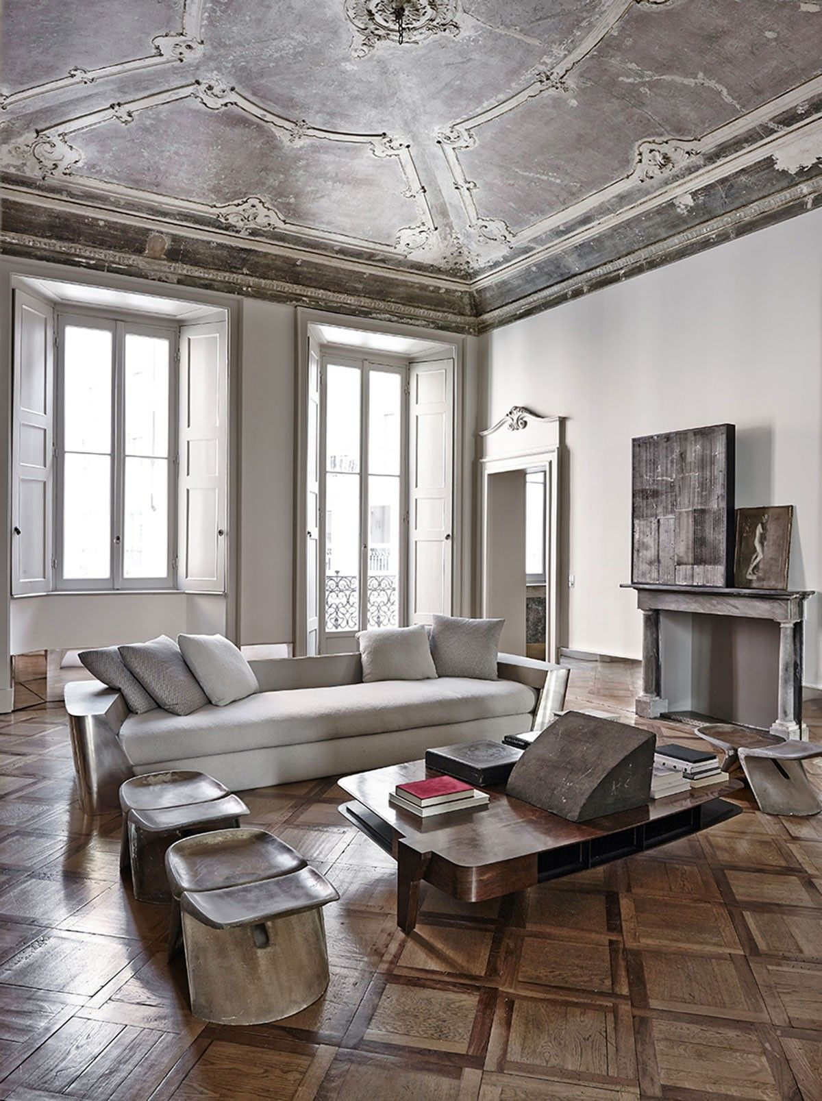 Private House Vincenzo De Cotiis Seating Area Living Room