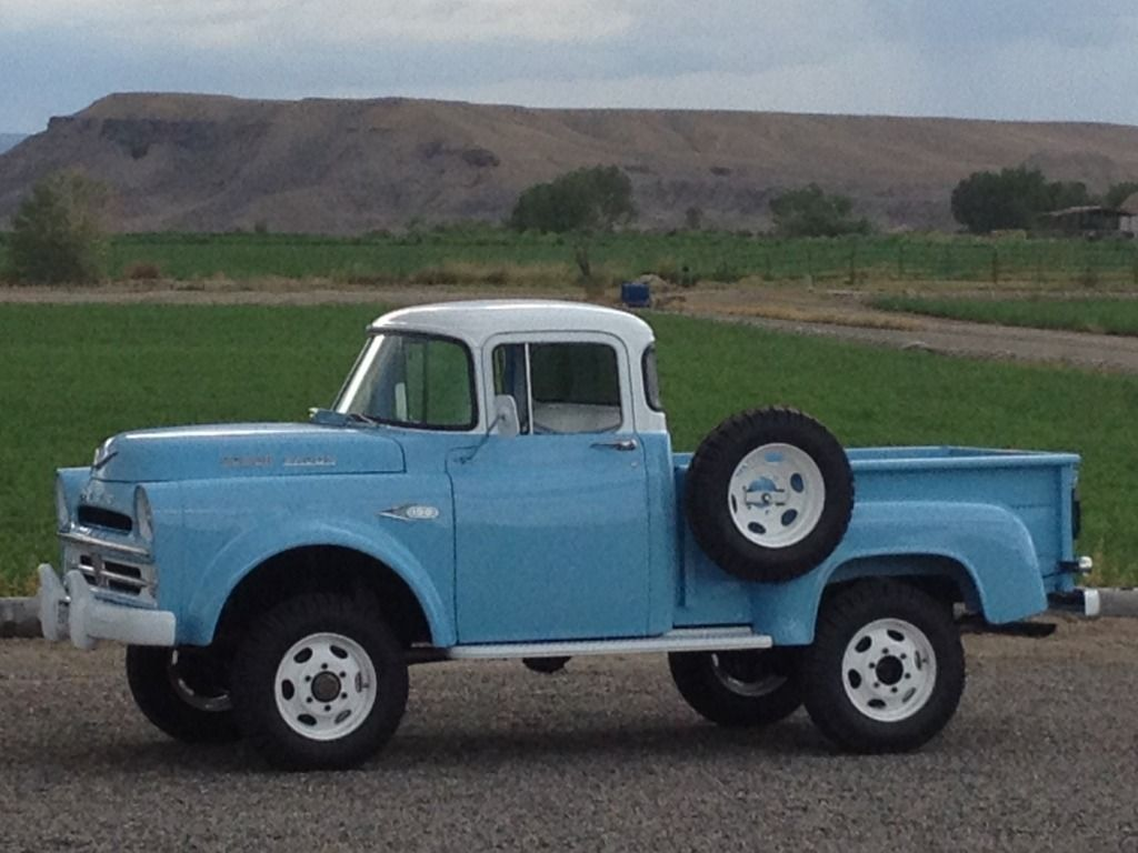 1957 Dodge Power Wagon W100-I want to rebuild a truck with my boys ...
