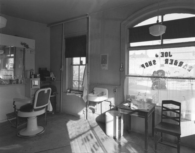 "Joe's Barber Shop, Paterson, NJ, 1970<br /><br /><a href=""/photo/joes-barber-shop-paterson-nj-1970"">View Image Details</a>"