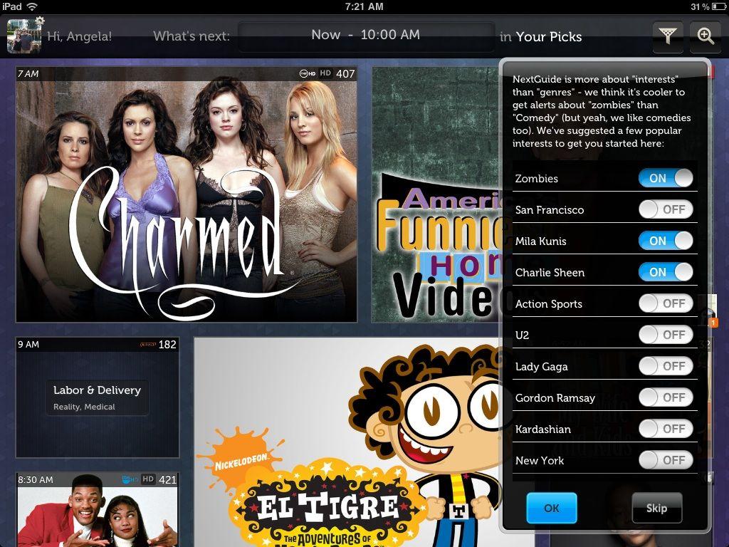 FREE NextGuide TV Program Listings Tv programmes