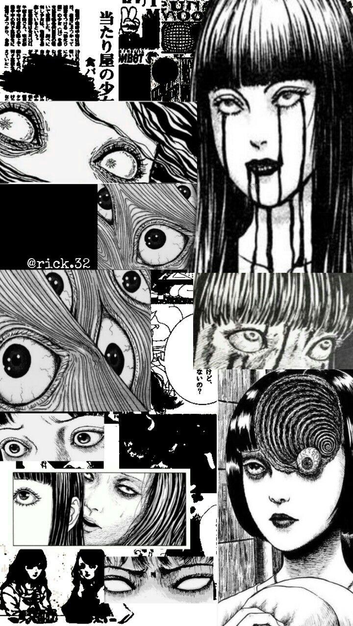 Ito Junji Wallpaper | Aesthetic anime, Anime wall art ...