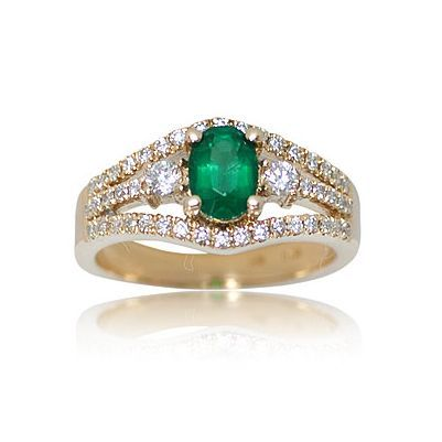 Here is yet another enchanting colorful gemstone ring - Parris Jewelers, Hattiesburg, MS #gemstones