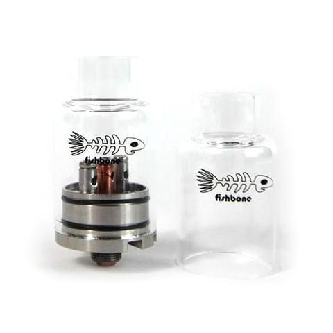 Fishbone RDA w/ Glass Tank by iCloudCig | VAPE DRIPPER