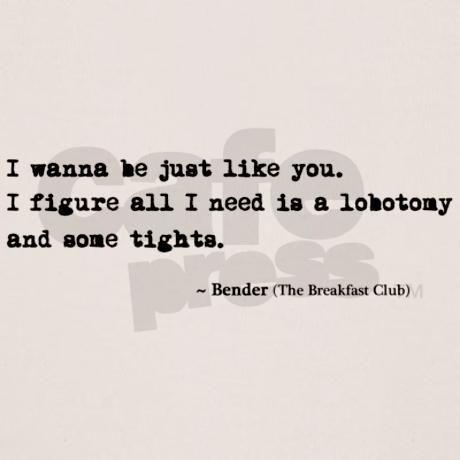 Breakfast Club Quote T Shirt On Cafepress Com Breakfast Club Quotes Favorite Movie Quotes The Breakfast Club