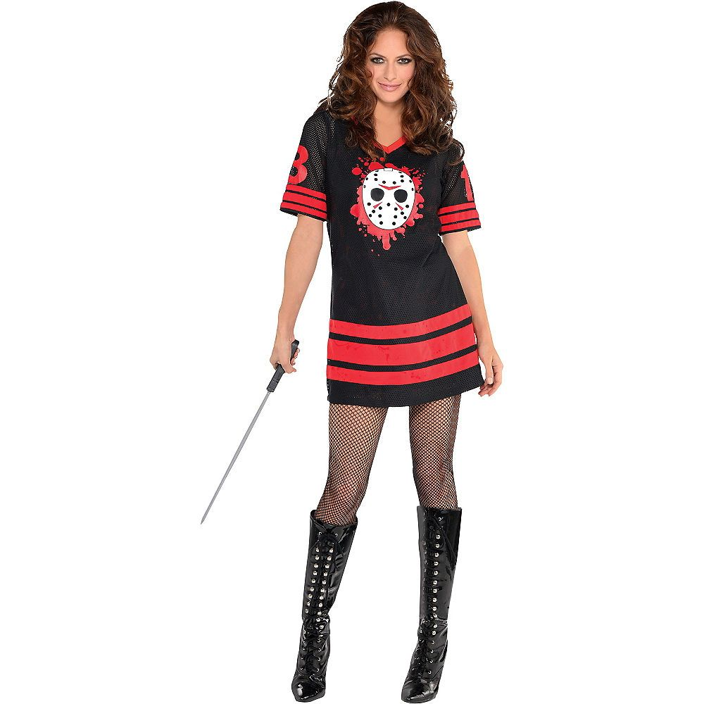 Adult Miss Voorhees Costume - Friday the 13th | Party City