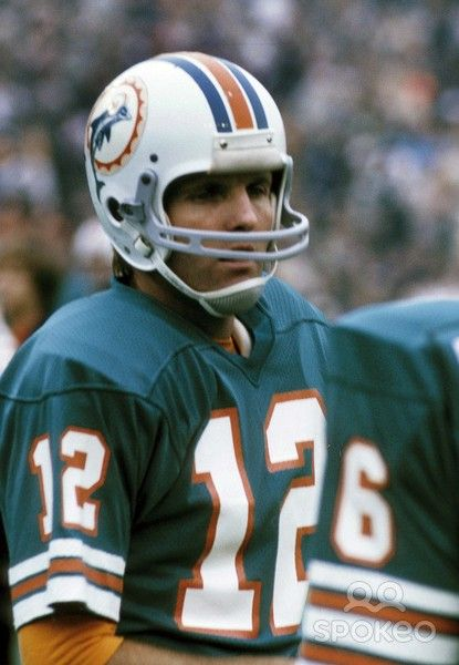 Bob Griese..starting QB in Superbowl 7 and 8