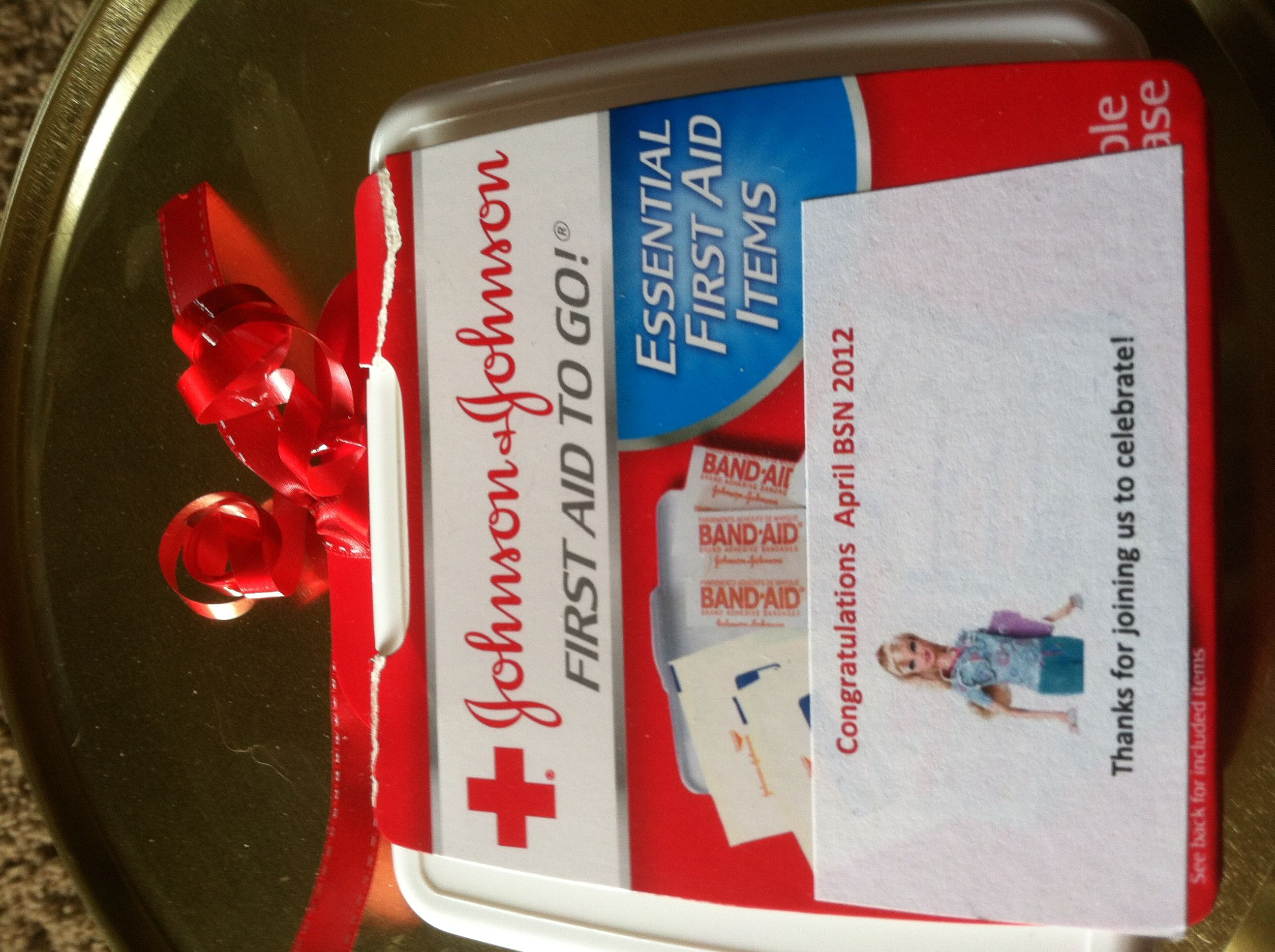 Nursing Grad Party Favor First Aid Kit