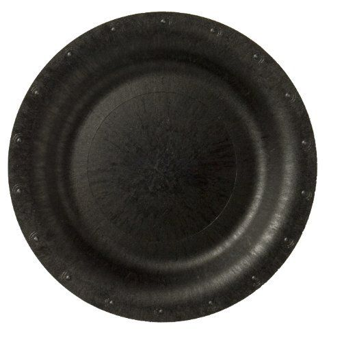 blueware 8 count biodegradable compostable lunch or dessert plates 7 inch black by ideal home. Black Bedroom Furniture Sets. Home Design Ideas