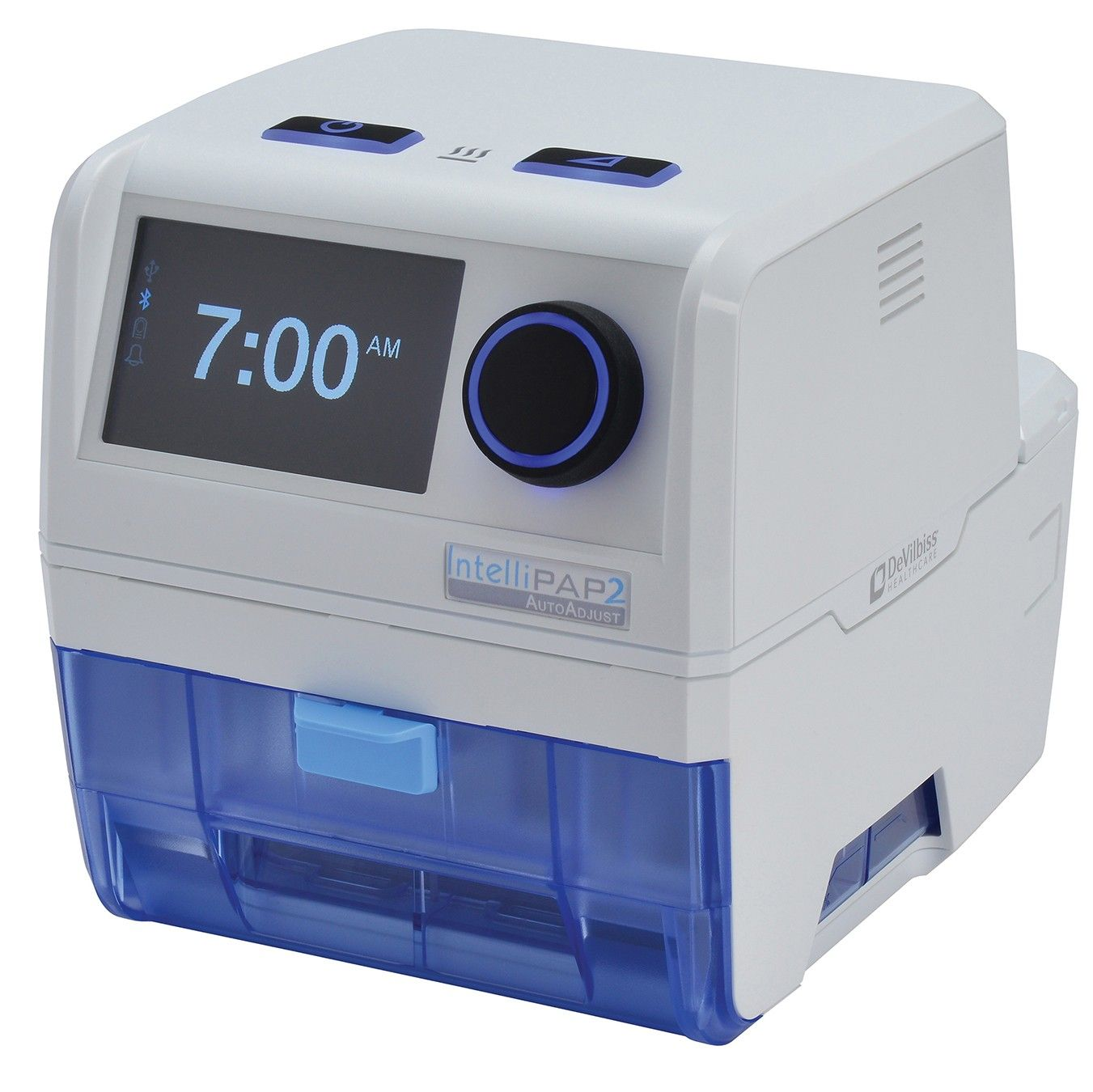 IntelliPAP 2 AutoAdjust CPAP System designed to