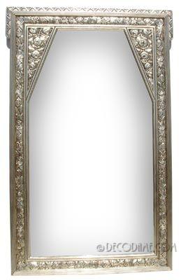 Grand French Art Deco Decorative Wall Mirror