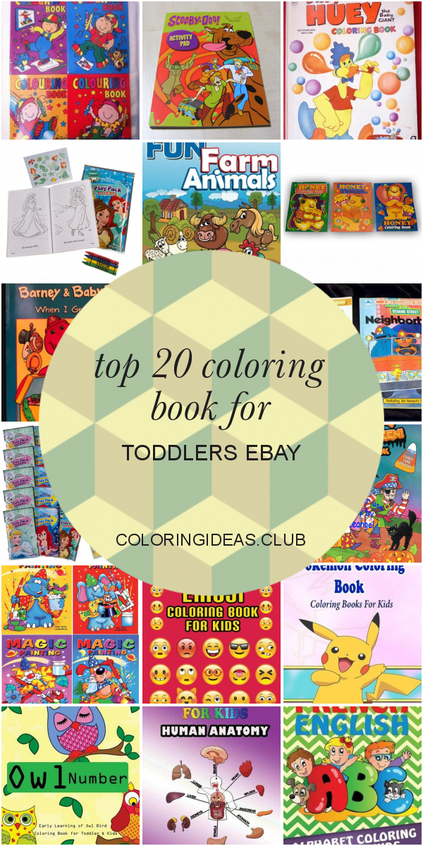 Top 20 Coloring Book For Toddlers Ebay Toddler Coloring Book Toddler Books Coloring Books
