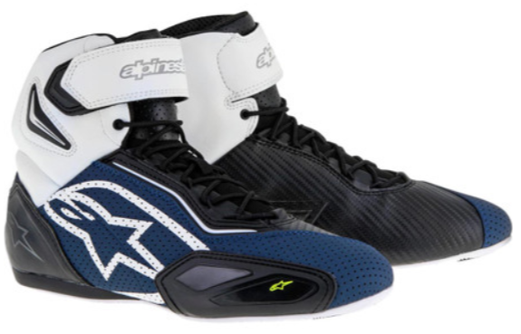 Alpinestars Faster 2 Vented Motorcycle Boots Motorcycle Boots Motorbike Clothing Motorcycle Shoes