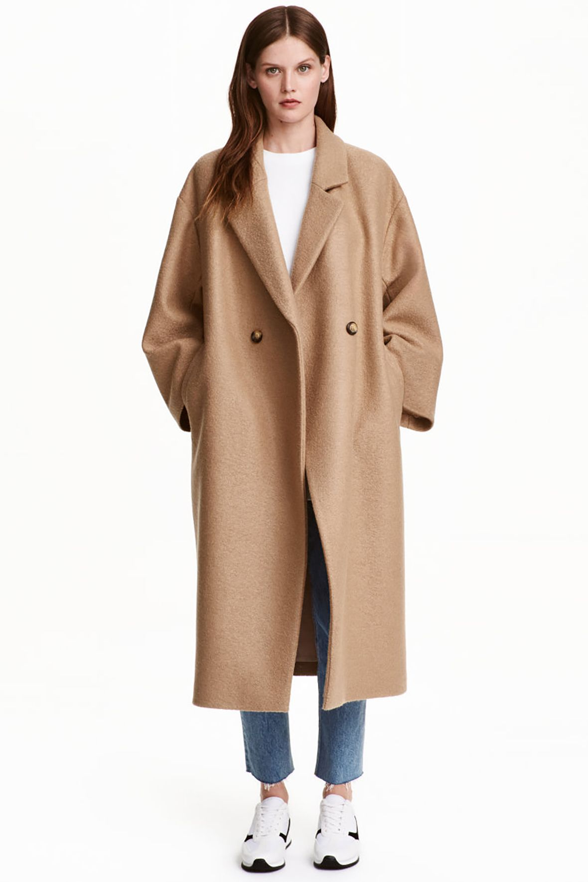 Oversized Wool Coat - Poor Little It Girl Weekly Weakness - H&M Mantel H&m,  Mantels