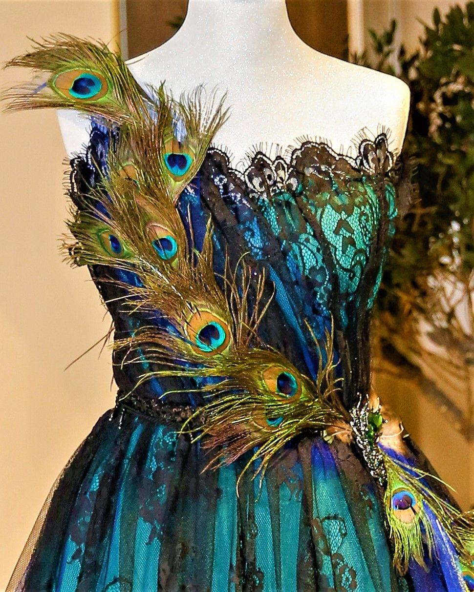 Paon Mousseline En Robe Haute Plume Et Couture Dentelle SXwE7w