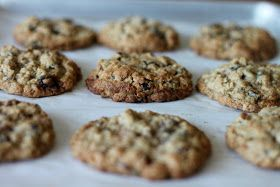 A Bountiful Kitchen: Raisin Pecan Oatmeal Cookies