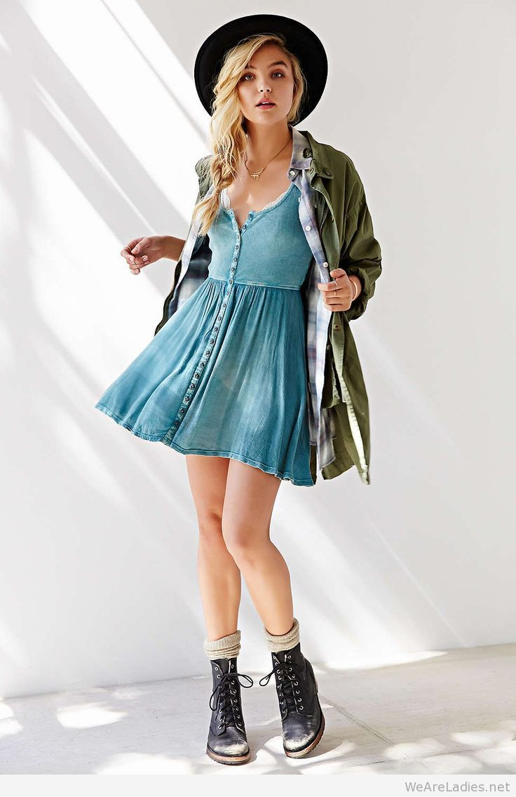 This out fit for fall uoecote moonbeam buttonfront tank dress