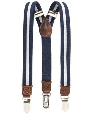 Nautica Boys' Rugby Stripe Suspenders - Kids & Baby - Macy's