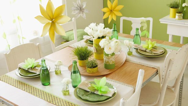 brighten up spring celebrations with diy party decorations and favors - Spring Party Decorating Ideas