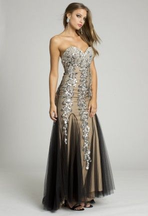 1000  images about Pin For Prom on Pinterest - Strapless dress ...