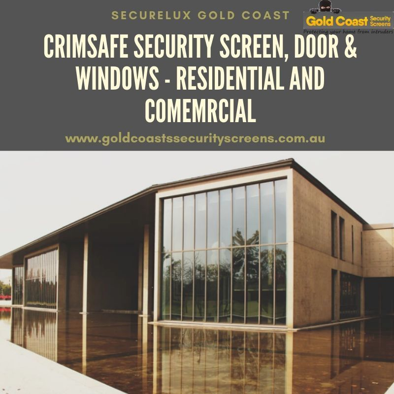 Crimsafe Security Screens Gold Coast Security Screen Residential Windows
