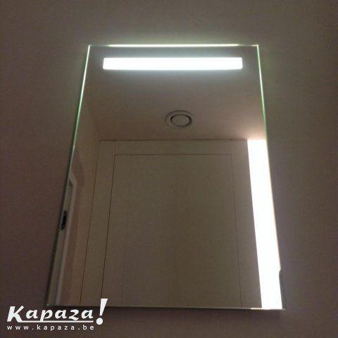 spiegel met led verlichting spiegels merelbeke kapazabe