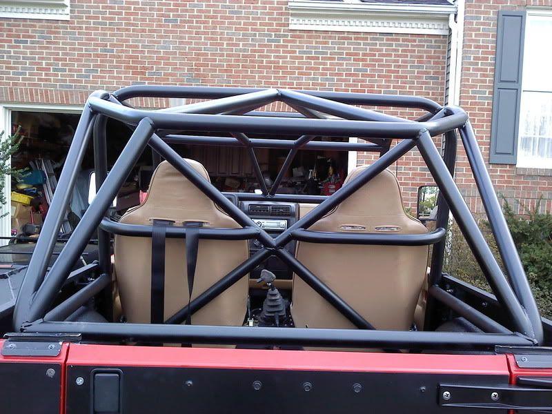 Tj Custom Roll Cages Jeepforum Com Roll Cage Custom Jeep Jeep Yj