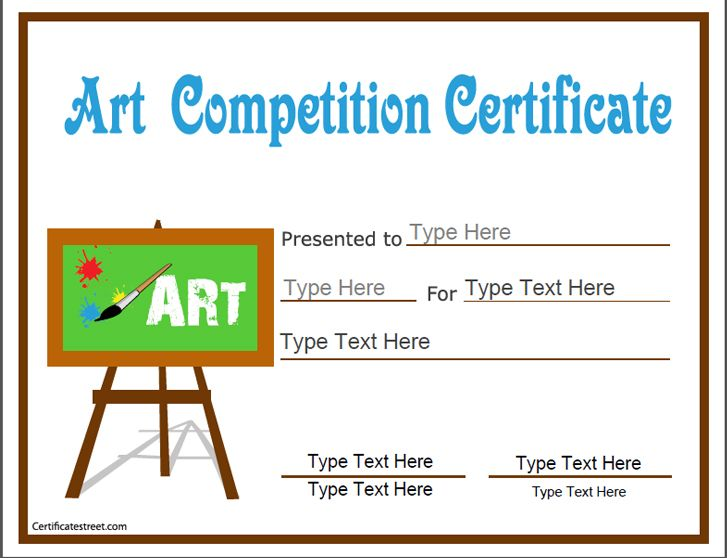 Education certificate art competition certificate education certificate art competition certificate certificatestreet yelopaper Images