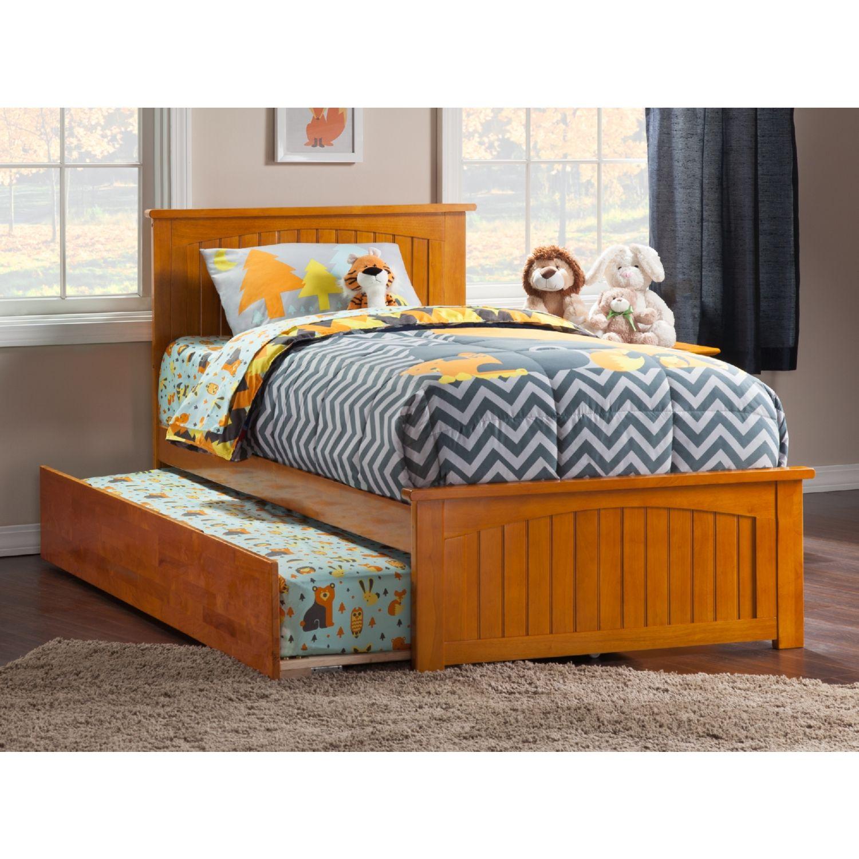 Atlantic Furniture Nantucket Twin Bed Matching Footboard