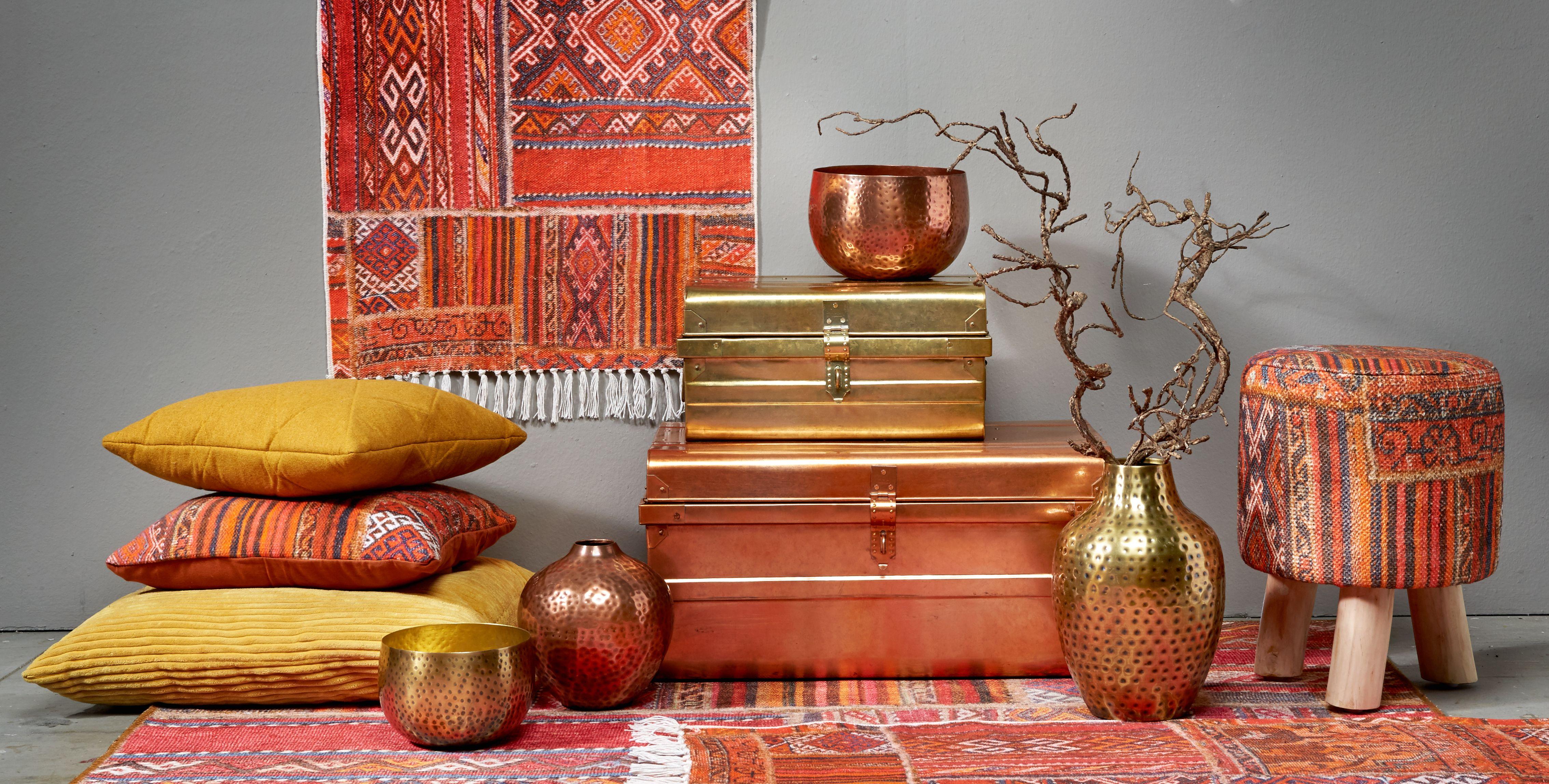 Photo of Vrolijke kleurtjes he? Combineer okergeel, oranje, koper en goud met kekke print…