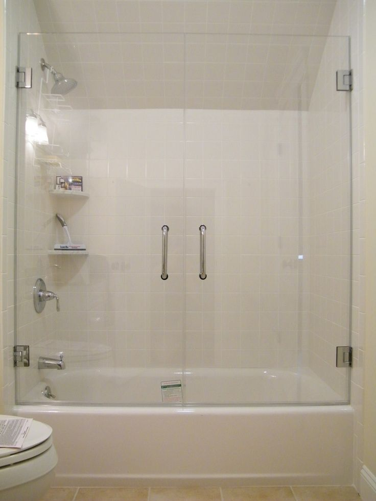 Frameless Glass Tub Enclosure Framless Glass Doors On Your Bath Tub